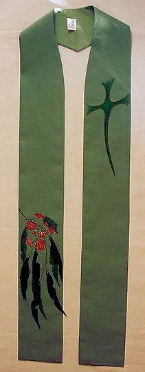 Eucalyptus Blossom and Free Cross