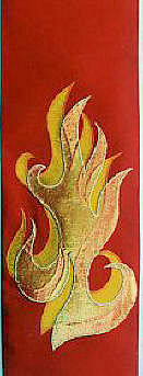 Stylized Flames for Pentecost