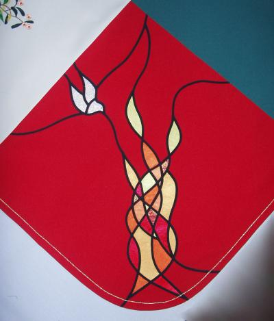 Pentecost Flames and Dove