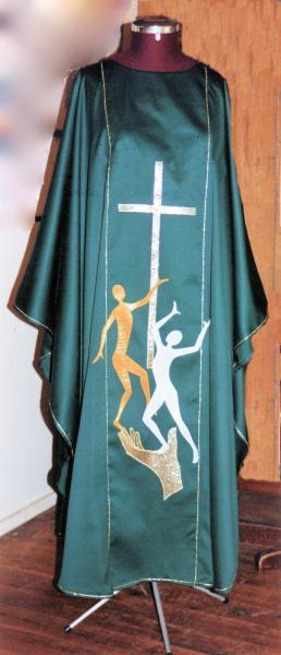 Dancing Figures with Cross