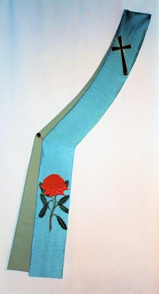 Australian Waratah with the Resurrection Cross