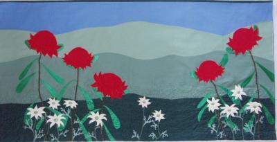Waratahs and Flannel Flowers - Altar