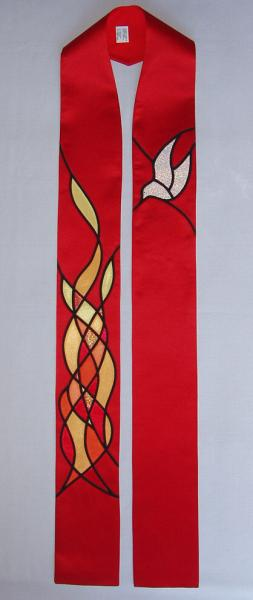 Stole for Pentecost and Celebrations